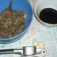 Салат из баклажанов с гранатами Recipe