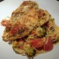 Herbed Rubbed Chicken with Creamy Orzo