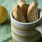 The Great Holiday Bake-a-thon, Pt 2 - Lemon, Ginger and Pistachio Biscotti