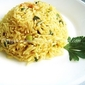 Green Spring Onion/Vengayathaal Fried Rice