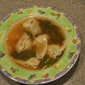 Chicken and Shrimp Kiao Man (a variation of Thai Wonton Soup)