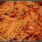 Shrimp, Sausage & Spaghetti