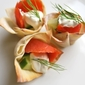Easy Appetizers: Baked Wonton Cups