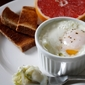 Baked Eggs with Mashed Potatoes & Leeks
