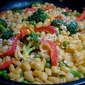 Double Cheese Pasta Primavera