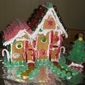 Quick And Easy Christmas Gingerbread House