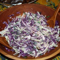 Mexican Cole Slaw with Lime and Cilantro