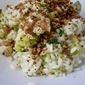 Cauliflower Risotto with Anchovy Crumbs