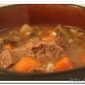 Thoughtless Thursday: Beef Barley Soup