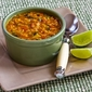 Recipe for Mexican Red Lentil Stew with Lime and Cilantro (Vegan)