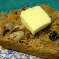 Carrot Raisin Nut Bread