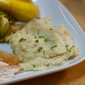 Mashed Parsnip and Potato Recipe with Chives and Cream Cheese