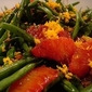 Green Bean And Blood Orange Salad