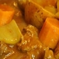 Hearty Beef Stew with Mushrooms, Carrots and Potatoes