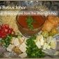Mee Rebus Johor /Noodles in gravy