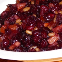 Image of Vino Cotto Cranberry Fruit Conserve Recipe, Cook Eat Share