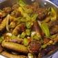 Meatballs n Sausage with Primavera Sauce