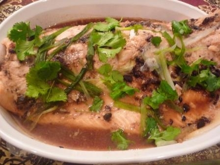 Steamed Fish with Black Bean Sauce Recipe by Nancy - CookEatShare