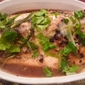 Steamed Fish with Black Bean Sauce