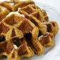 Pumpkin-Ginger-Pecan Waffles