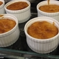 sticky clementine and ginger puddings