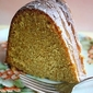 Winter Loves Sweet Potato Pound Cake with Cinnamon Cream Glaze . . .