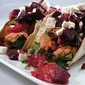 Salmon Tacos with Beet-Citrus Salsa