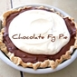 Chocolate Fig Pie- an adaptable charmer