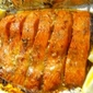 Baked Salmon with Saffron and Hoisin Sauce