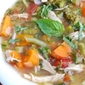 Spring Chicken Vegetable Soup
