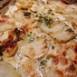 Potato and Sweet Potato au Gratin with Herbs