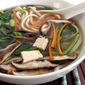 Udon Noodle Soup with Tofu and Watercress