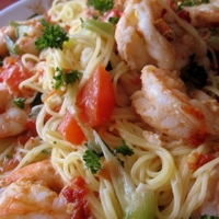 Image of Angel Hair Pasta And Shrimp Recipe, Cook Eat Share