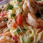 Angel Hair Pasta and Shrimp