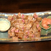 PEPPERED TUNA SKEWERS WITH WASABI-MAYO SAUCE Recipe by Nancy ...