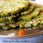 Fresh green peas parathas
