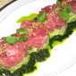 TUNA WITH AVOCADO, LIME AND TWO TYPES OF CILANTRO