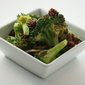 Blanched Broccoli Salad with Pumpkin Seeds and Dried Cherries