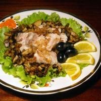 Рыба с грибами Recipe