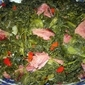 Holiday Fresh Greens with Smoked Turkey