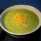 Broccoli, White Bean, and Cheddar Soup