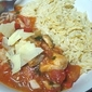 Spicy Tomato Chicken with Risoni