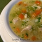 Homemade Chicken and Rice Soup - to Warm Body and Soul!