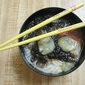 Seaweed, Tomato and Loofah(Luffa) Noodle Soup