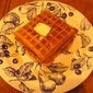 No Cold Cereal at Our House and Rich Waffles