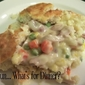 Chicken Pot Pie with Homemade Biscuit Crust