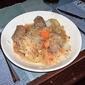 Sausage and sauerkraut casserole