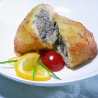 Картофельные шарики с мясным фаршем Recipe