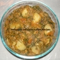 Aloo, Methi curry/ Potato, Fenugreek leaves curry