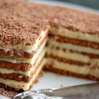 Marie Biscuit Coffee Cake